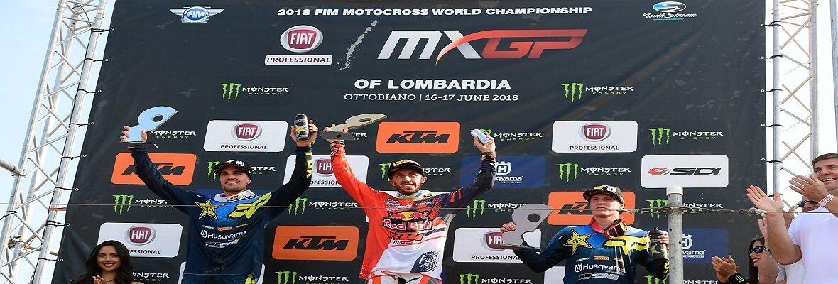 "Tony Cairoli câștigă la ""Fiat Professional MXGP di Lombardia"""